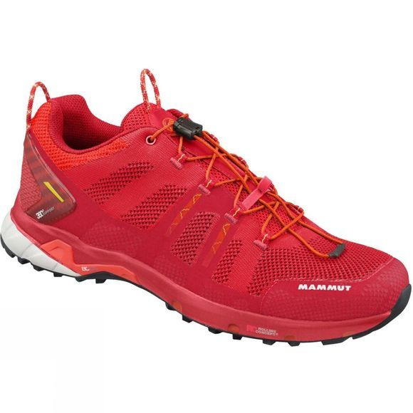 Mammut Mens T Aegility Low Shoe Inferno/Dark Orange