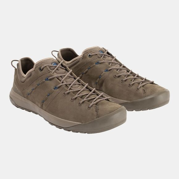 Mammut Mens Hueco Low LTH Shoe Bark/Dark Surf