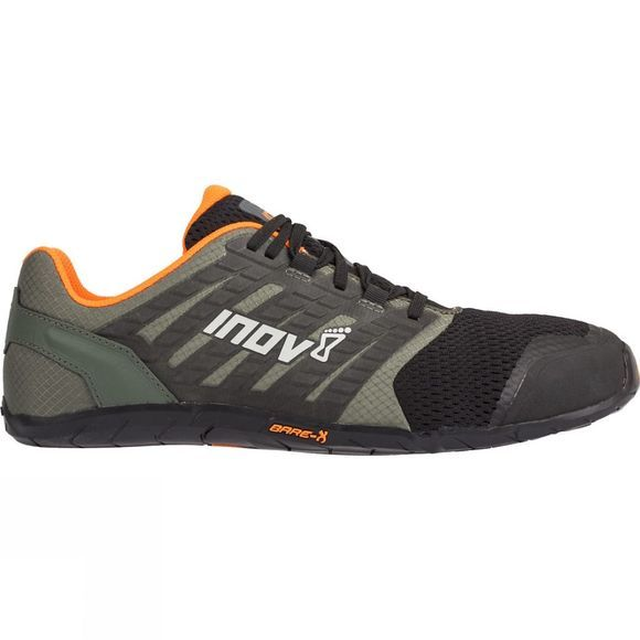 Inov-8 Mens Bare-Xf 210 V2 Grey/ Black/ Orange