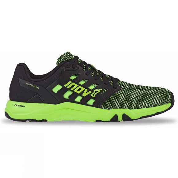 Inov-8 Mens All Train 215 Knit Training Shoe Green/ Black