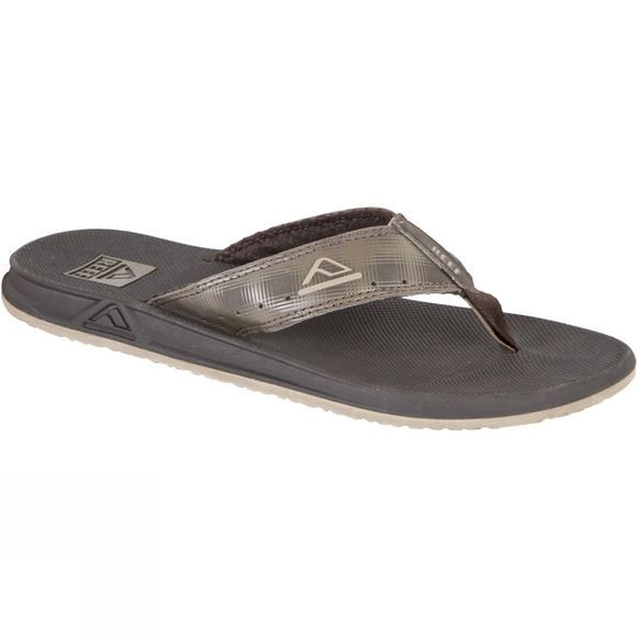 Reef Mens Phantom Prints Flip Flop Brown Plaid