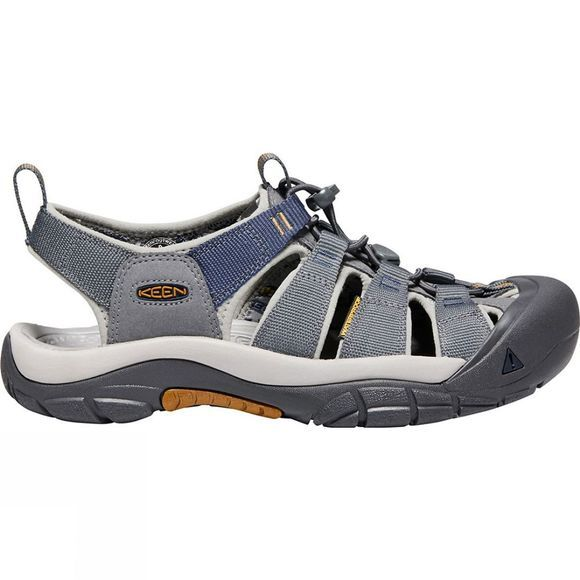 Keen Mens Newport Hydro Shoes Steel Grey/Paloma