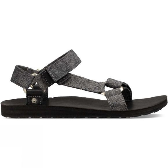Teva Mens Original Universal Denim Sandal Charcoal Denim
