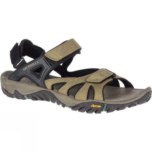 Merrell Mens All Out Blaze Sieve Convert Sandal Stucco