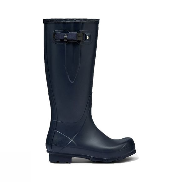 Hunter Norris Field Adjustable Wellington Boots Navy