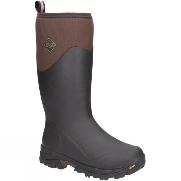 Muck Boot Mens Arctic Ice Tall Extreme Conditions Sport Boot Brown