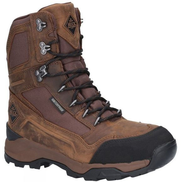 "Muck Boot Mens Summit 8"" Warm Weather Performance Boot Brown"