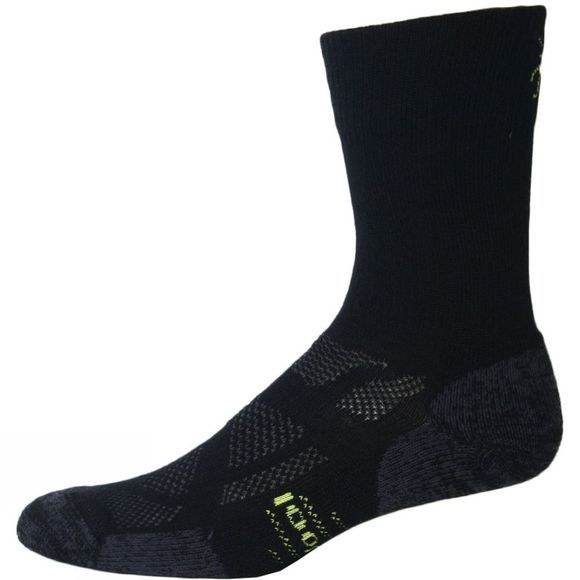 SmartWool Men's Outdoor Sport Light Crew Double Sock Pack Black