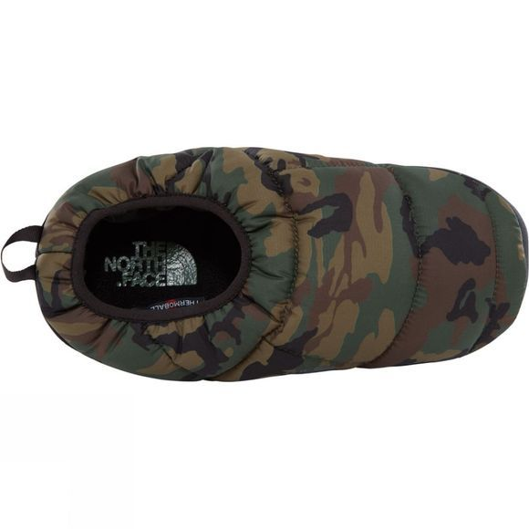 The North Face Men's Never Stop Exploring Tent Mule III Slipper Black Forest Woodland Camo