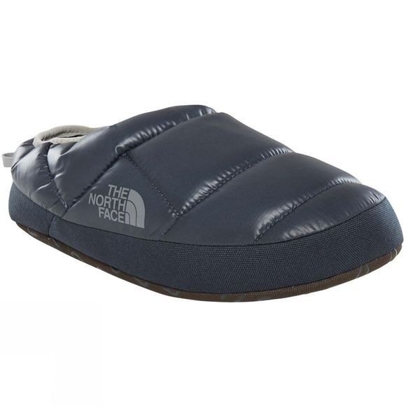 The North Face Men's Never Stop Exploring Tent Mule III Slipper Shiny Urban Navy/ Griffen grey
