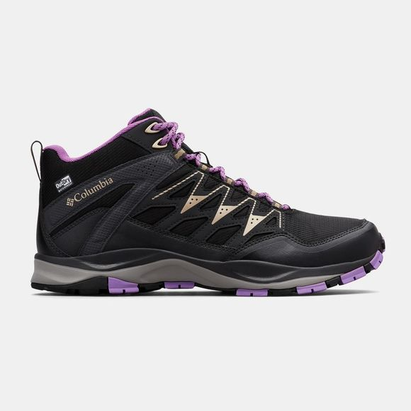 Columbia Womens Wayfinder Mid Outdry Black/ Warm Gold