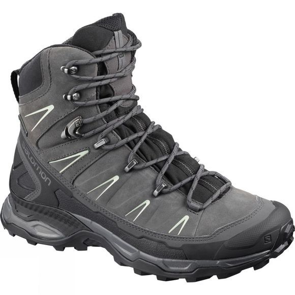 Salomon Womens X Ultra Trek GTX Boot Black/Magnet/Mineral Gray