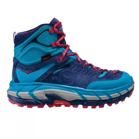 Hoka One One Womens Tor Ultra Hi WP Shoe Blue Jewel / Medieval Blue