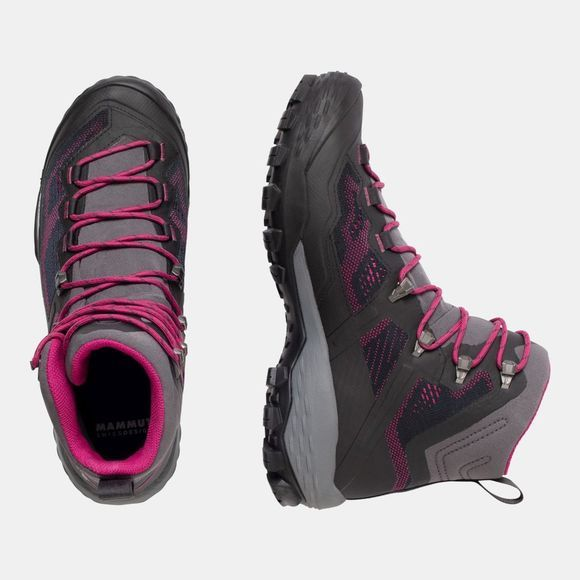 Mammut Womens Ducan High GTX Shoe Phantom/Dark Pink