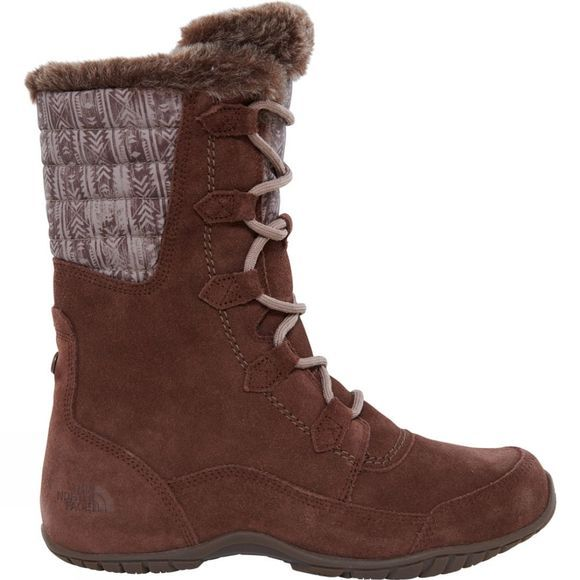 The North Face Womens Nuptse Purna II Boot Carafe Brown/ Taupe Grey
