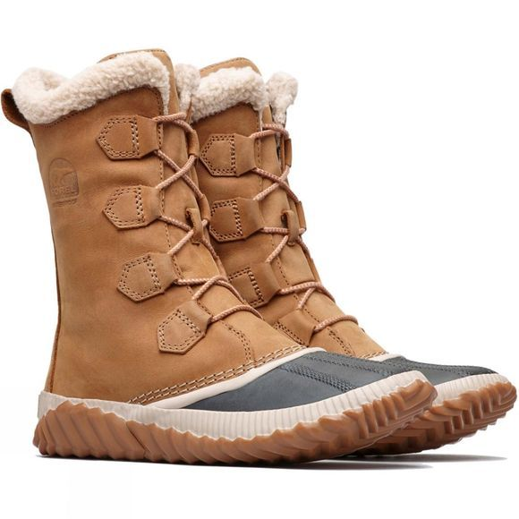 Sorel Womens Out n About Plus Tall Boot Elk