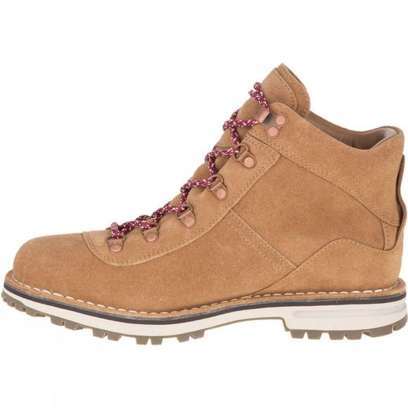 Merrell Womens Sugarbush Waterproof Suede Tobacco