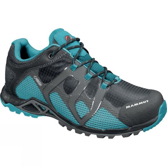 Mammut Womens Comfort Low Gore-Tex Surround Shoe Graphite / Pacific