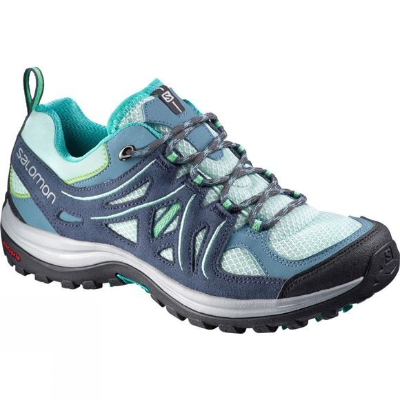 Salomon Womens Ellipse 2 Aero Shoe Igloo Blue/Slate Blue/Teal Blue