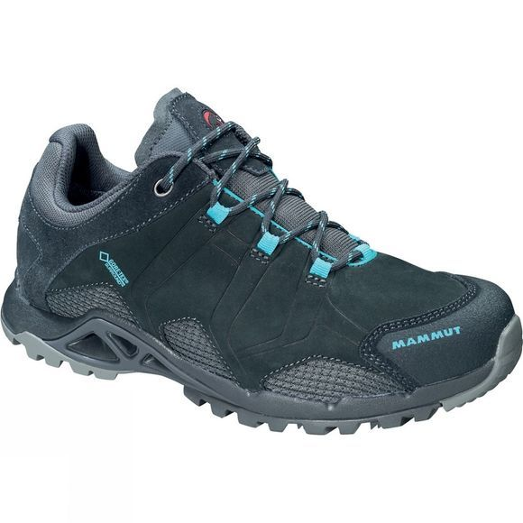 Mammut Womens Comfort Tour Low GTX Surround Shoe Graphite/Light Pacific