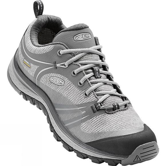 Keen Womens Terradora Waterproof Shoes Natural Grey/Gargoyle