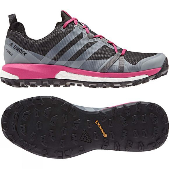 Adidas Womens Terrex Agravic GTX Shoe Grey Four