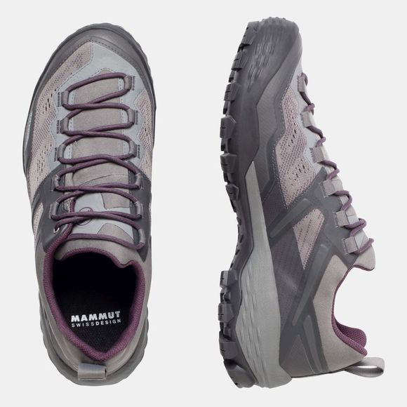 Mammut Womens Ducan Low GTX Shoe Light Titanium/Light Galaxy