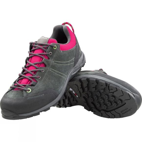 Mammut Women's Wall Low Graphite/Magenta
