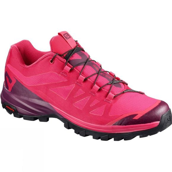 Salomon Womens Outpath Shoe Virtual Pink/Potent Purple/Black