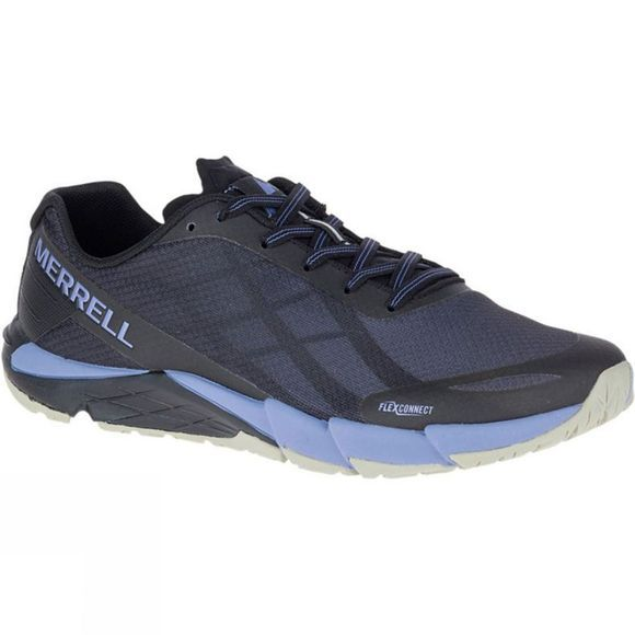Merrell Womens Bare Access Flex Black/Metallic Lilac