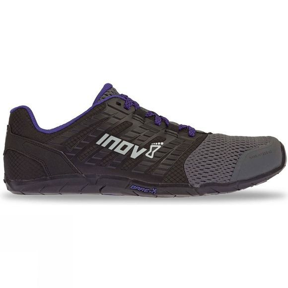 Inov-8 Womens Bare-Xf 210 V2 Training Shoe Grey/ Black/ Purple