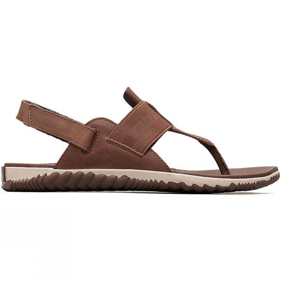 Sorel Womens Out 'N About Plus Sandal Tobacco