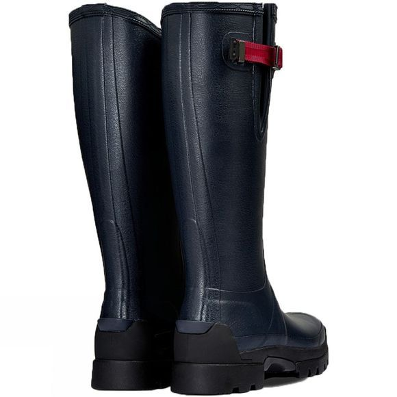 Hunter Womens Balmoral Side Adjustable 3mm Neoprene Boots Navy/Peppercorn