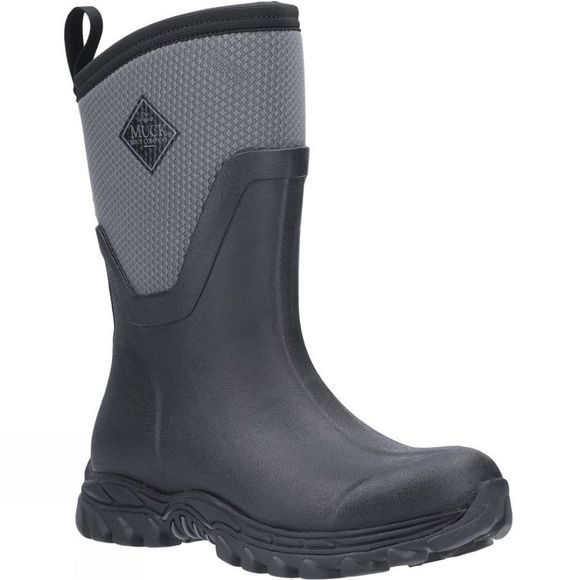 Muck Boot Womens Arctic Sport Mid Boot Black/Grey