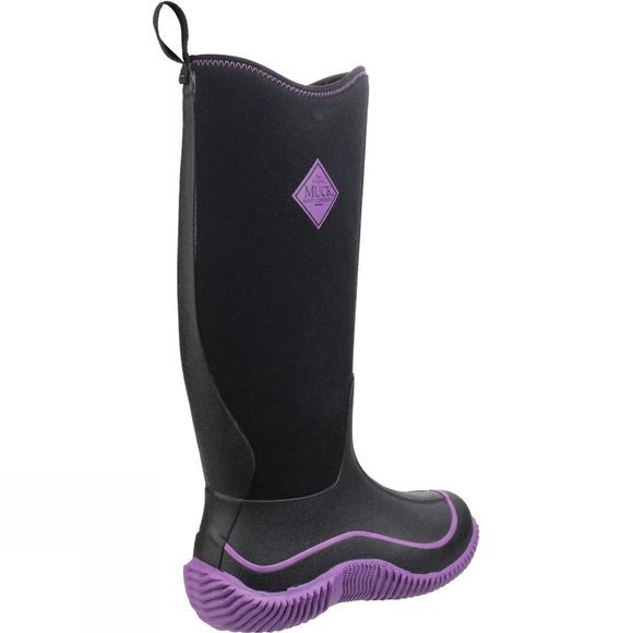 Muck Boot Womens Hale Boot Black/Purple