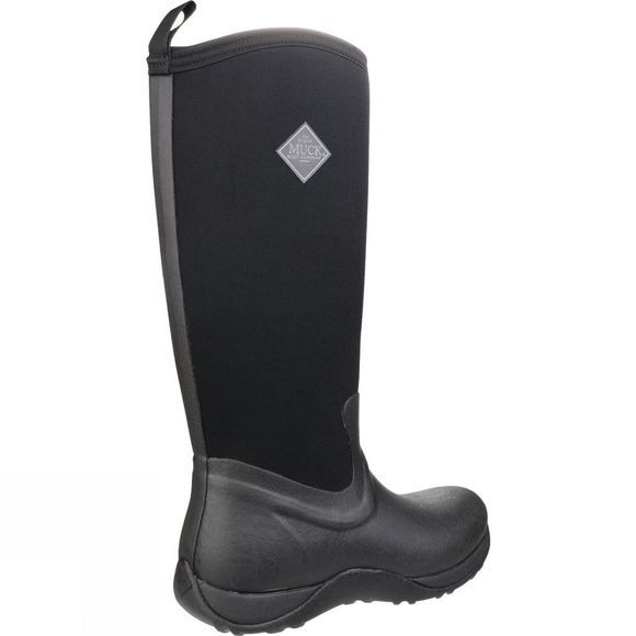 Muck Boot Womens Arctic Adventure Boot Black/Black