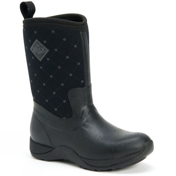 Muck Boot Womens Arctic Weekend Boot Black Quilt