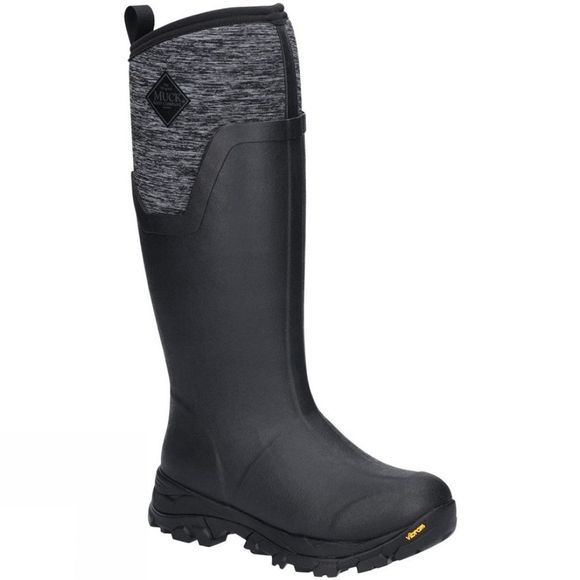 Muck Boot Womens Arctic Ice Tall Extreme Conditions Sport Boot Black/Heather