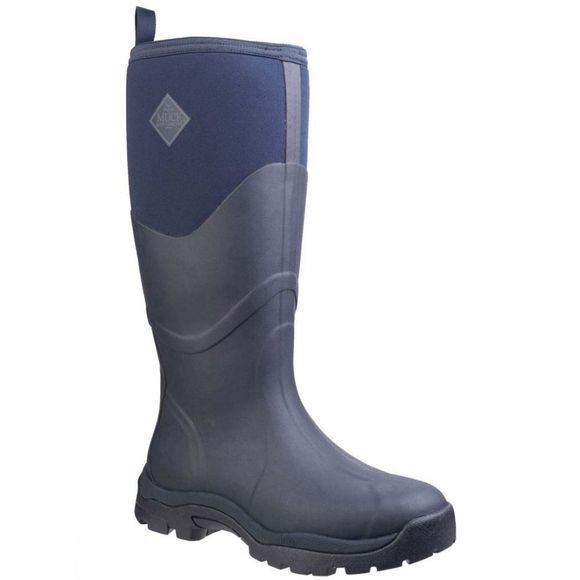 Muck Boot Womens Greta Max Work Boot Navy