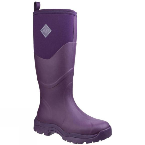 Muck Boot Womens Greta Max Work Boot Purple