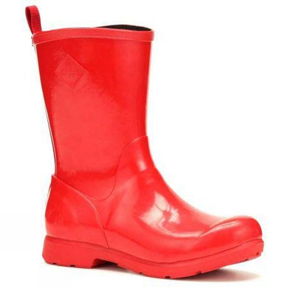 Muck Boot Womens Bergen Mid Boot Red