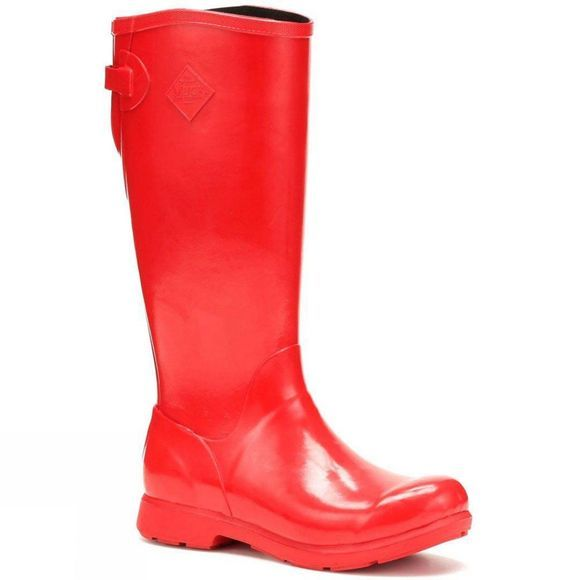 Muck Boot Womens Bergen Tall Boot Red