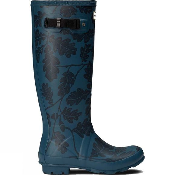 Hunter Womens National Trust Print Norris Field Welly Dusk