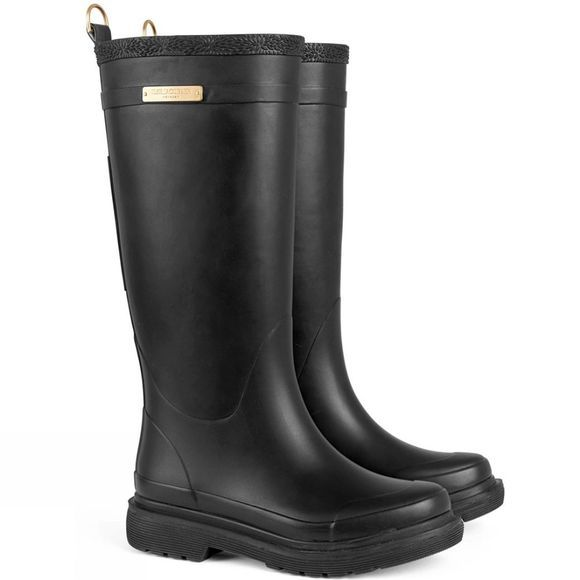 Ilse Jacobsen Womens Tall Rain Boot Black