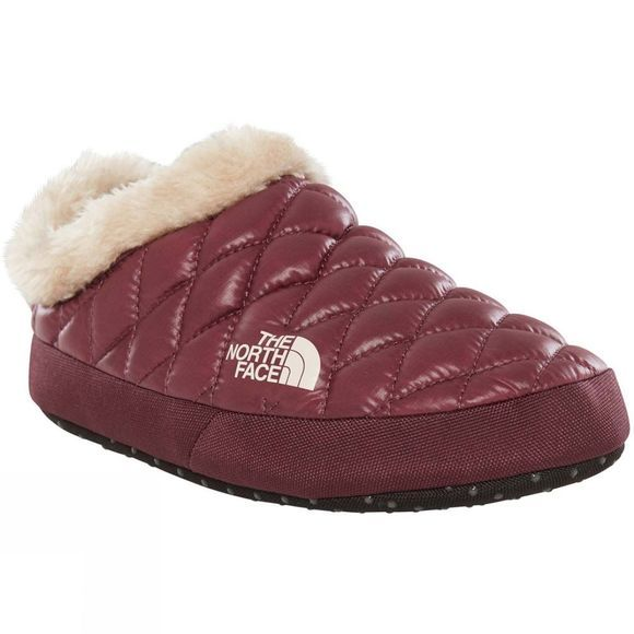 Womens Thermoball Tent Mule Faux Fur