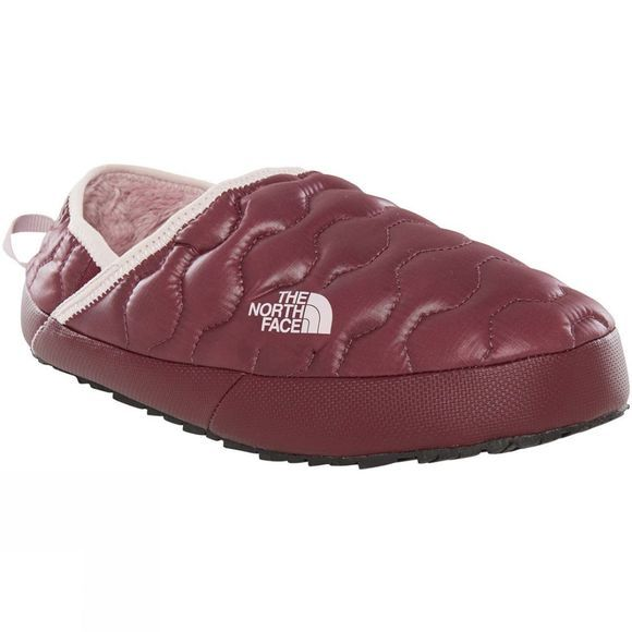 The North Face Womens Thermoball Traction Mule IV Slipper Shiny Fig/Burnished Lilac
