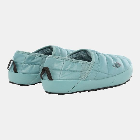 The North Face Womens Thermoball Traction Mule V Slipper Trellis Green/TNF Black