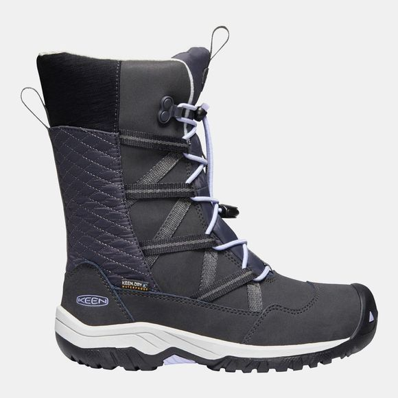 Keen Youth Hoodoo Waterproof Boot Black/Sweet Lavender