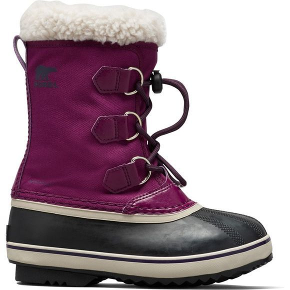 Sorel Yoot Pac Nylon Boot Wild Iris, Dark Plum