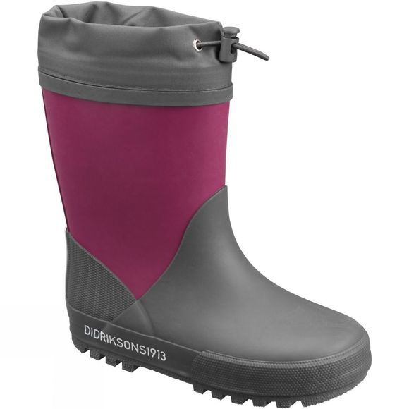 Didriksons Kids Slush Winter Boots Dark Lilac